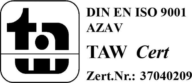 TAW-Cert-DIN EN ISO 9001